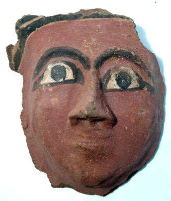 11: Egypt, Late Period, 664 – 323 BC. A wood and mud-ge