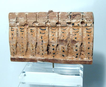 15: Egypt, Late Period, 664 – 30 BC. A wooden panel of