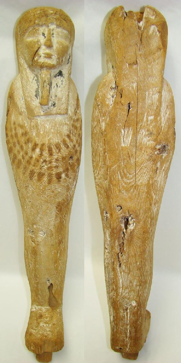 14: Egypt, a large and impressive wood Ptah Soker