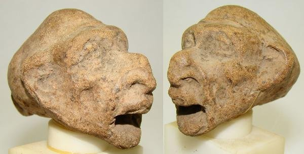"21: Hellenistic Egypt, detailed terracotta ""grotesque"""