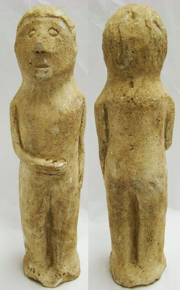 "266: Philippines, limestone sculpture called a ""Likha"""