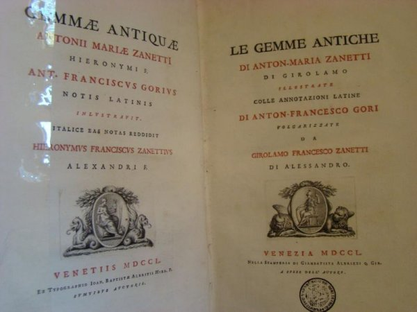 3: Gori, Anton-Francesco & Girolamo Francesco Zanetti.