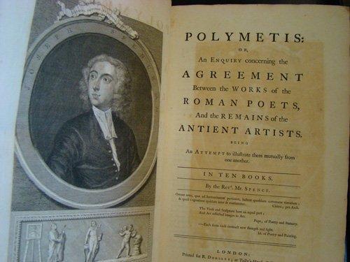 4: Spence, Rev. Mr. Polymetis: or An Enquiry Concerning