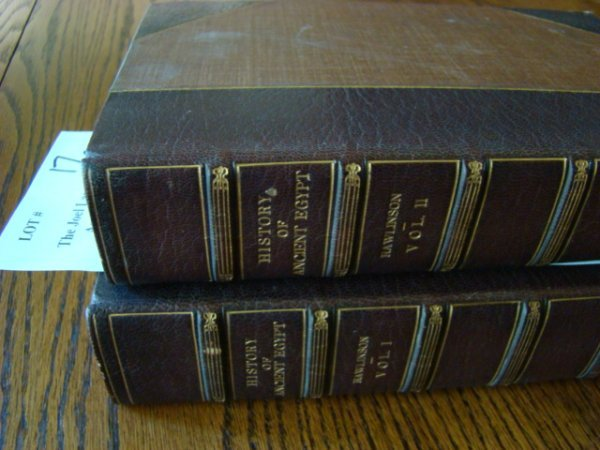 17: Rawlinson, George. History of Ancient Egypt. 2 Volu