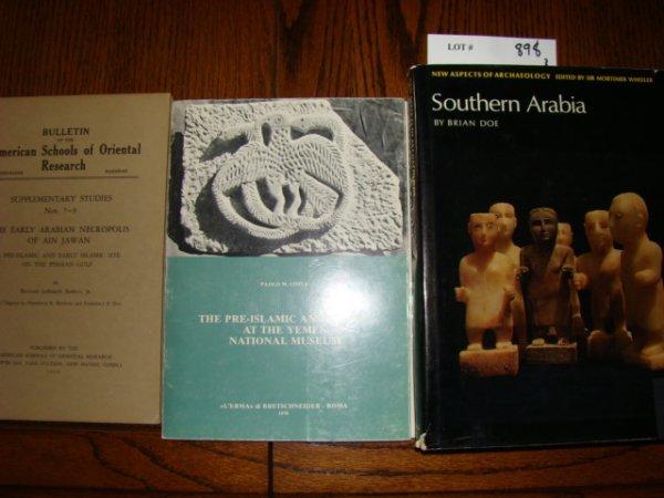 898: Doe, Brian. Southern Arabia. New York. 1971. 4to,