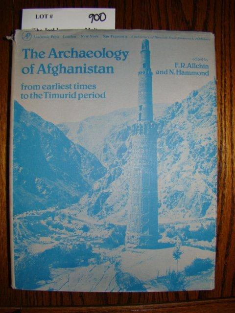 900: Allchin, F. R. & Hammond, Norman. The Archaeology