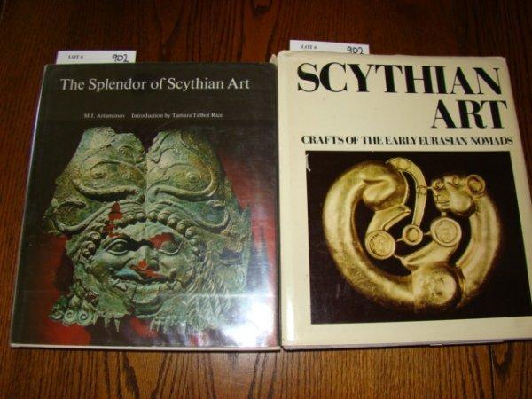902: Artamonov, M. I. The Splendor of Scythian Art, Tre