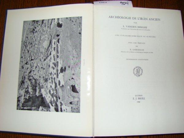 904: Berghe, L. Vanden. Archeologie de L'Iran Ancien. L