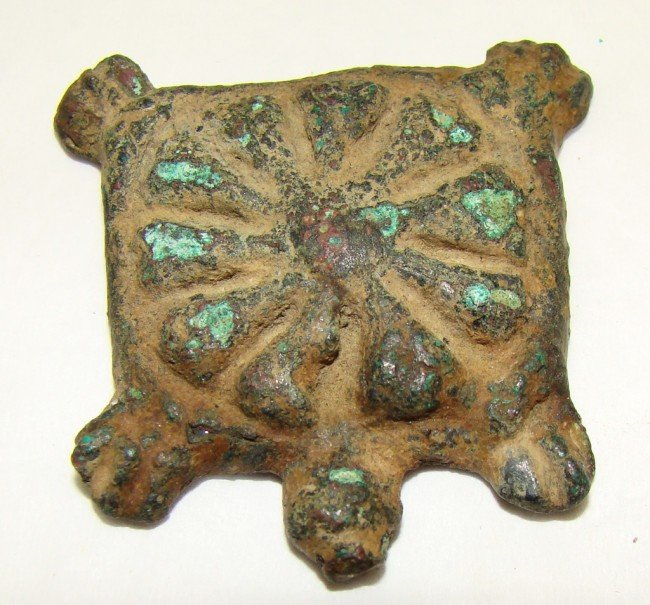 4: Syria / Egypt, weight in the shape of a flat turtle