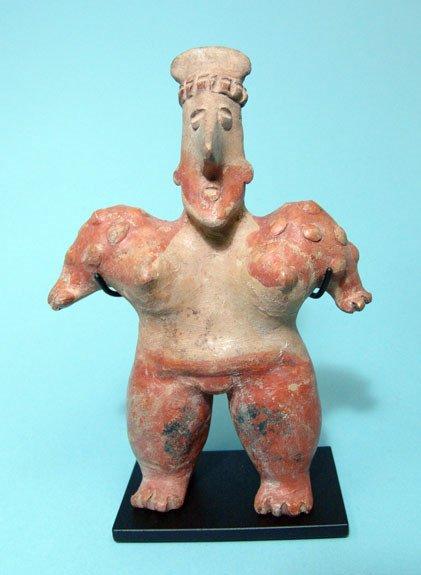 6: West Mexico, Jalisco, Large Female Figure