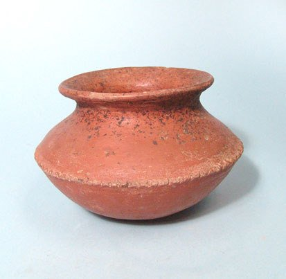 12: West Mexico, Colima, Red Ware Vessel