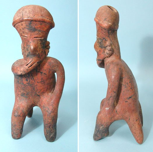 13: West Mexico, Nayarit, Choice Seated Figure
