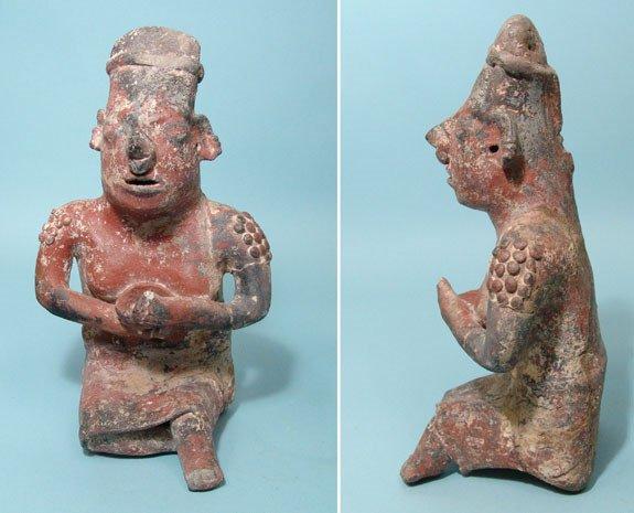 14: West Mexico, Nayarit, Seated Female Figure