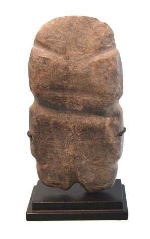 16: Mexico, Mezcala, Carved Stone Figure