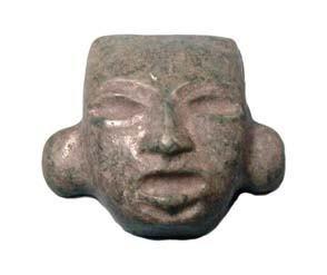 19: Mexico, Teotihuacan, Jade Mask