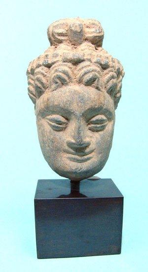 299: Kushan, c. AD 200 – 400 A beautiful Gandharan Face