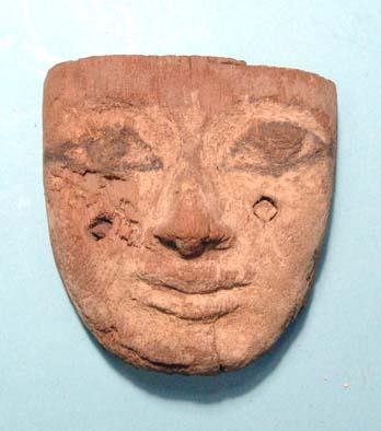 """3: Nice Wooden """"Mask""""."""