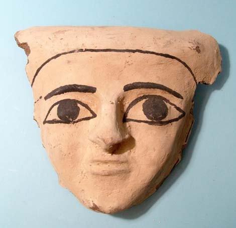 """5: Choice Painted Mummy """"Mask""""."""