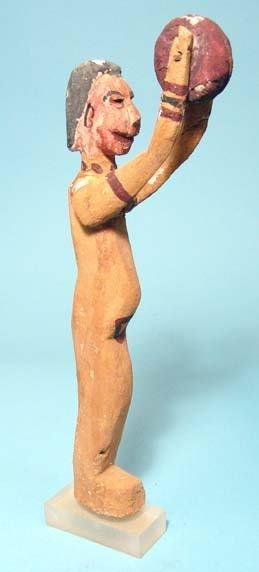 10: Wooden 'Dancing Lady' Figure.