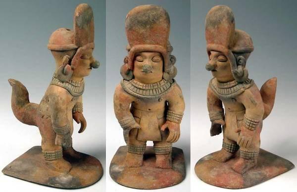 188: Exceptional Jamacoaque Shaman Figure.