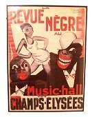 2265: Original color poster by Paul Colin of Paris Foll
