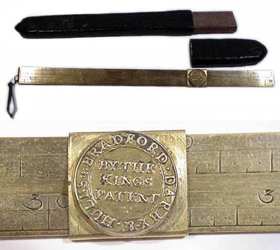 England, 1753, Darby Steelyard for Gold