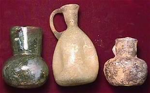 Judaean, c. 100-300 AD., a lot of three