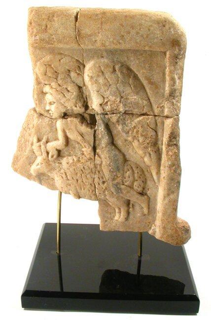 9: Byzantine Period, c.10th Century AD. A mar