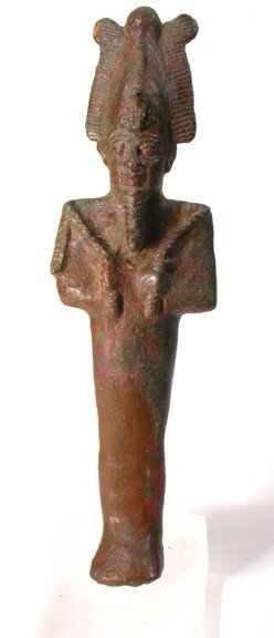 12: Saite period, Dynasty XXVI, 664 - 525 BC.