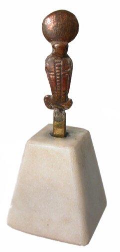15: Late Period, 760 - 343 BC. A bronze uraeu