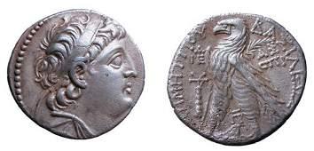 196: Demetrius II, 2nd Reign. 130 - 125 BC. A