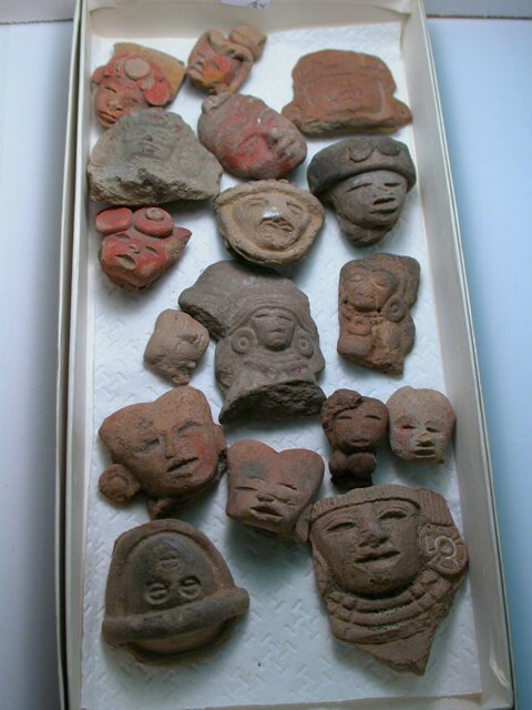 1005: Teotihuacan, c. 200-800 AD. A lot of 24
