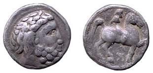 Danube Region. Imitating Philip II. Circa 2nd Centur