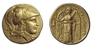 Alexander the Great. 336 - 323 BC. Gold Stater of 32
