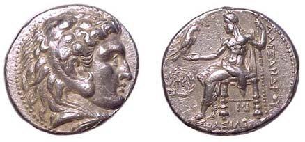 10: Alexander the Great. 336 - 323 BC. AR Tetradrachm o