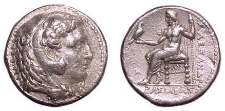 11: Alexander the Great. 336 - 323 BC. AR Tetradrachm o