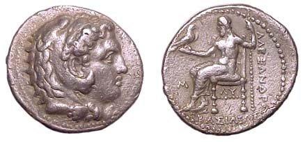 12: Alexander the Great. 336 - 323 BC. AR Tetradrachm o