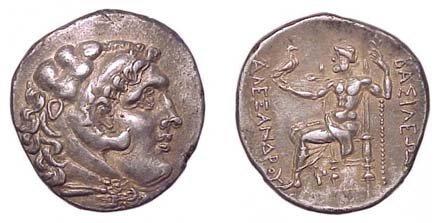 13: Alexander the Great. 336 - 323 BC. AR Tetradrachm o