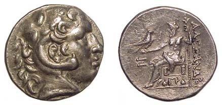 14: Alexander the Great. 336 - 323 BC. AR Tetradrachm o