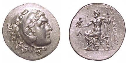 15: Alexander the Great. 336 - 323 BC. AR Tetradrachm o