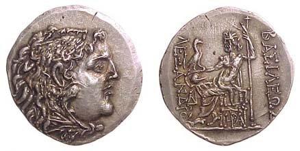16: Alexander the Great. 336 - 323 BC. AR Tetradrachm o