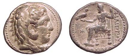 19: Philip III. 323 - 317 BC. AR Tetradrachm. Babylon M