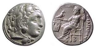 Philip III. 323 - 317 BC. AR Drachm of 319 - 310 BC