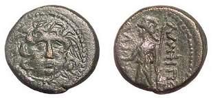 Amphipolis, 1st - 3rd Century AD. AE-23. 11.02g. He