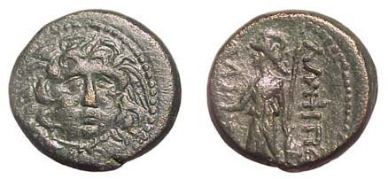 23: Amphipolis, 1st - 3rd Century AD. AE-23. 11.02g. He