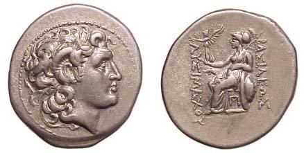 25: Lysimachus, 323 - 281BC. AR Tetradrachm. 17.12 gram