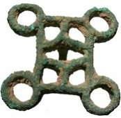 239: AFGHANISTAN, DASHLY SITE, c. 2000 BC. A square bro