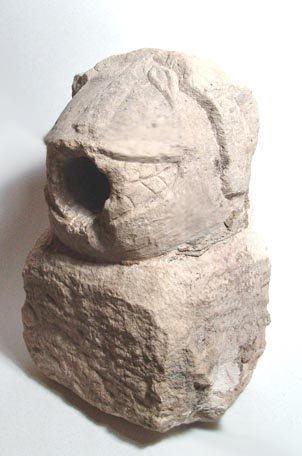 1004: Hittite Lion Waterspout in Limetsone. Hittite, c.