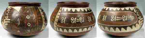 1411 Peru Nazca ca 100  400 AD  This lovely jar h