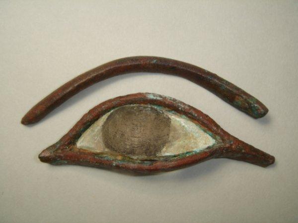 2024: Egypt, New Kingdom, 1570-1070BC. A bronze and ala